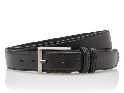 3,5 cm zwarte pantalon riem 35577