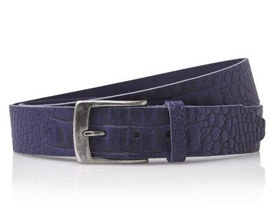4 cm blauwe riem 40628