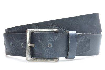 4,5 cm navy blauwe jeans riem 418