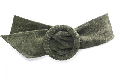 7,5 cm tailleriem groen 800048