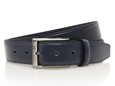 3,5cm blauwe pantalon riem 506