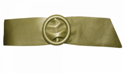 8 cm tailleriem groen 80213
