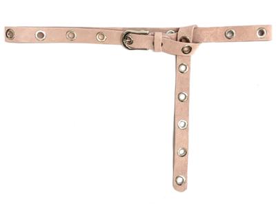2,5cm lange roze riem zilver 25424