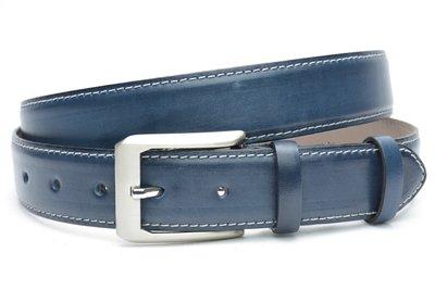 blauwe pantalonriem