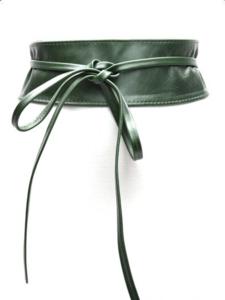 8 cm knoopriem groen 0001
