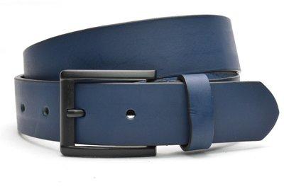 4 cm blauwe riem 40602