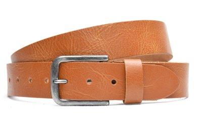 4 cm cognac jeans riem 64080