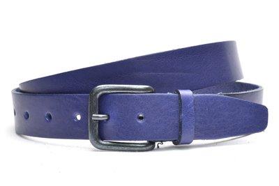 3,5cm blauwe riem 629
