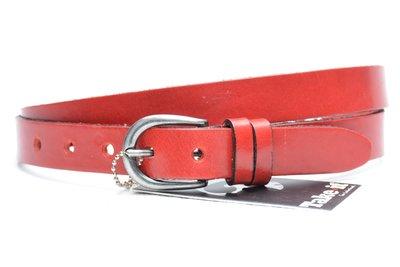 2,5 cm rode riem 25493