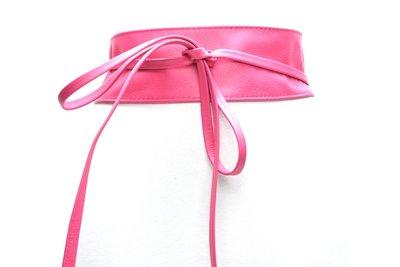 8cm knoopriem roze 0001