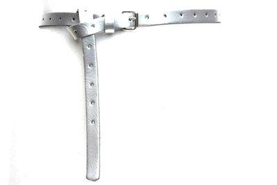 1,5cm lange zilveren riem 150per