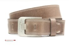 taupe riem, taupe jeans riem