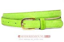 groene dames riem